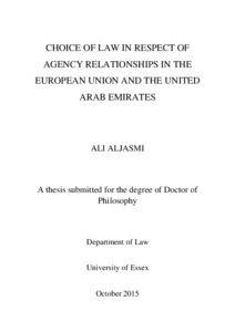 University of essex phd thesis