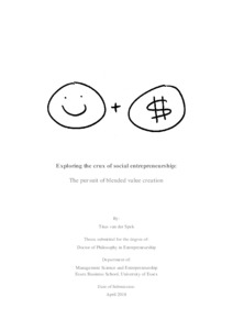 Exploring the crux of social entrepreneurship: The pursuit
