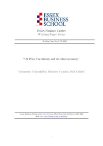 Oil Price Uncertainty and the Macroeconomy - Research Repository